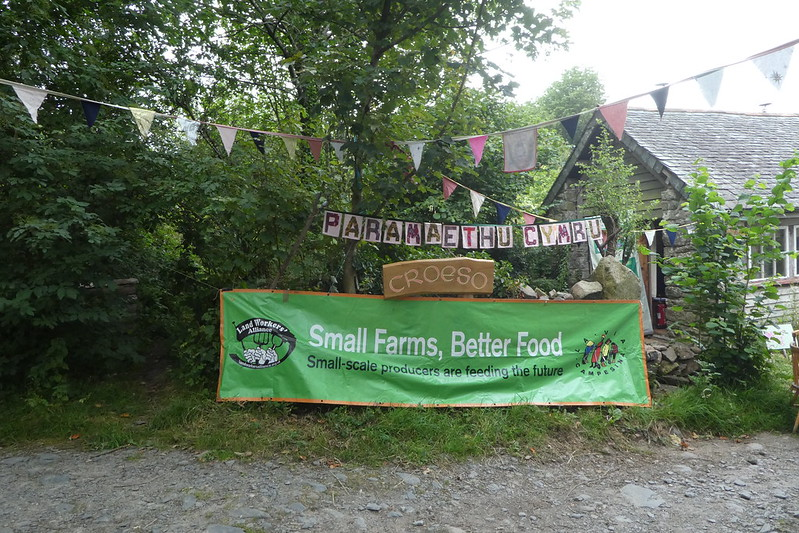 Paramaethu Cymru welcome banner