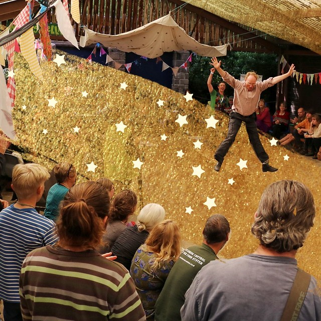Permaculture Association UK celebrating and commiting to action at the national permaculture convergence 2018