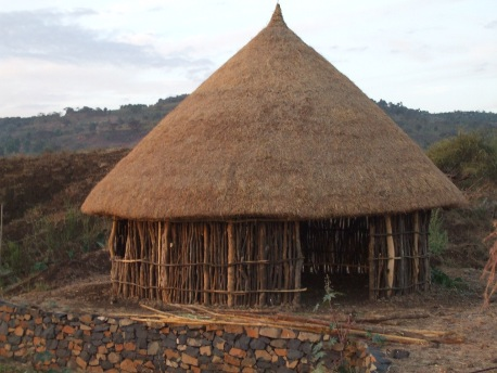 Alex McCausland's house in Ethiopia - Strawberry Fields Eco-lodge