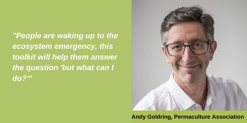 Andy Goldring, Permaculture Association