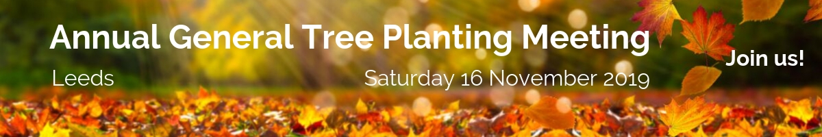 Annual General Tree Planting Meeting Banner Image