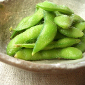 Soyabeans on a plate