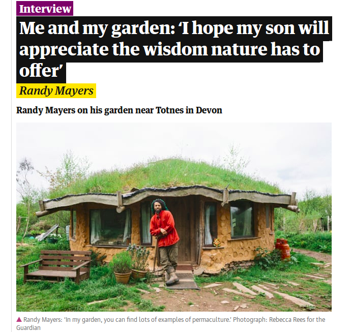 "Me and my garden: ""I hope my son will appreciate the wisdom nature has to offer"""