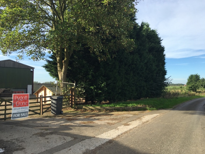 The farm next door to the Inkpot is for sale