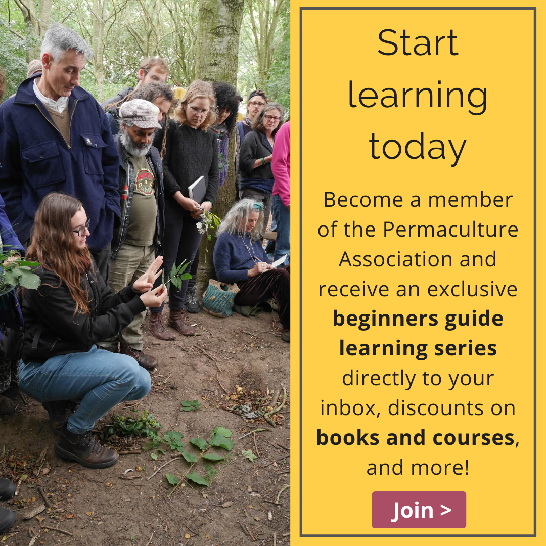 Learn with Permaculture Association membership