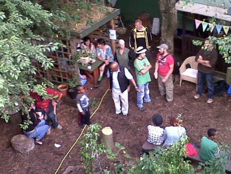 Networking at Maiden Lane Permaculture Project