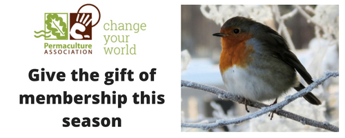 Give the gift of Permaculture Association membership this season