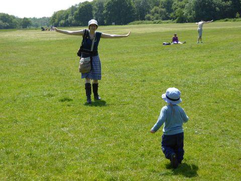 On Wimbledon common. Phoro: cathredfern CC BY-NC 2.0