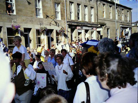 A street parade