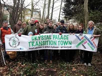 Crystal Palace Transition Town group shot