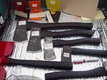Tools and technology - axes, knives, help chopping wood, pruning and many other tasks