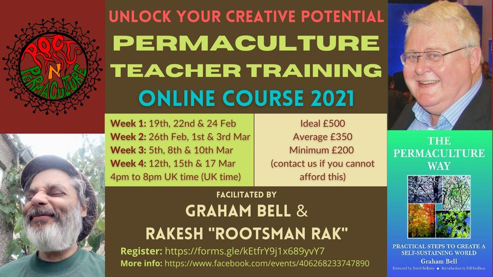 Online Permaculture Teacher Training Course 2021